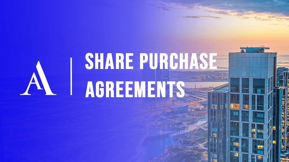 Share Purchase Agreements Alston Asquith